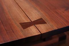 机の「蝶々」