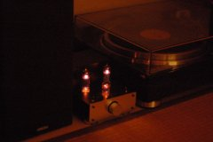 TU-880 とレコードプレーヤ