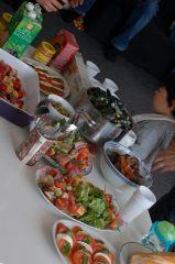 パーティーの食卓