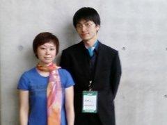 初代スカーフ(かずひこ)と二代目スカーフ(すずきみほ)
