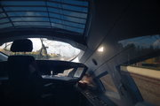 ICE最後尾の車窓から