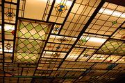 レストランPfefferkornの天井の装飾