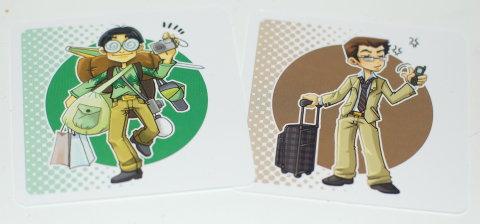 怪しい観光客カードたち