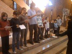 子供たちによる合唱