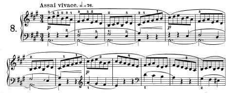 ステファン・へラー「練習曲 op. 47-8」
