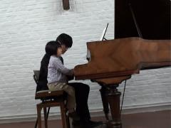 子供Aの演奏