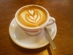CAFFE VITAのカプチーノ