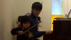 子供A(ヴァイオリン)