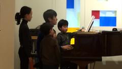 フランスの童謡の合唱(子供たち)